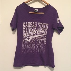 Tops - K-State purple fitted shirt